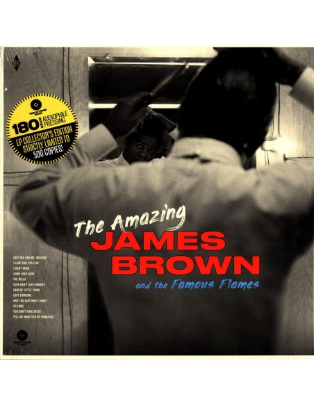 "VINILO LP JAMES BROWN ""THE AMAZING JAMES BROWN"""