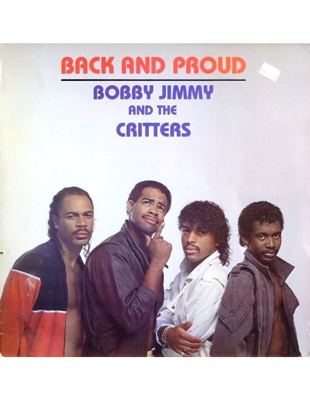 """VINILO LP BOBBY JIMMY & CRITTERS """"BACK AND PROUD"""""""