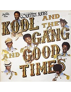"VINILO LP KOOL AND THE GANG ""GOOD TIMES"""