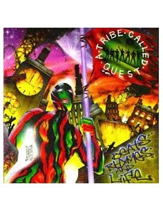 "CD A TRIBE CALLED QUEST ""BEATS, RHYMES AND LIFE"""