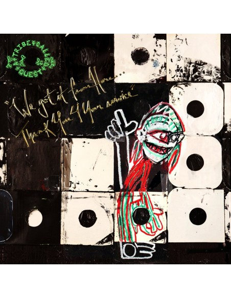"""VINILO 2LP A TRIBE CALLED QUEST """"WE GOT IT FROM HERE...THANK YOU 4 YOUR SERVICE"""""""
