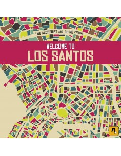VINILO 2LP THE ALCHEMIST AND OH NO PRESENTS WELCOME TO LOS SANTOS