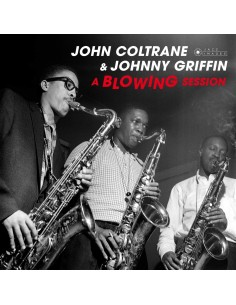 "VINILO LP JOHN COLTRANE & JOHNNY GRIFFIN ""A BLOWING SESSION"""