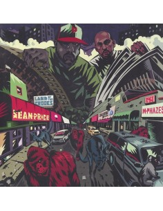"VINILO EP SEAN PRICE ""LAND OF THE CROOKS"""
