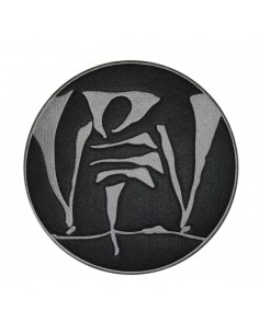 Parche BIG LOGO Violadores del Verso bordado, en color negro