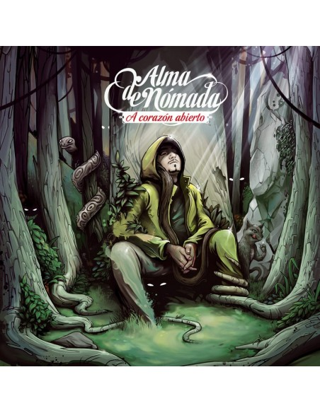 "ALMA DE NOMADA ""A Corazón Abierto"" Cd"