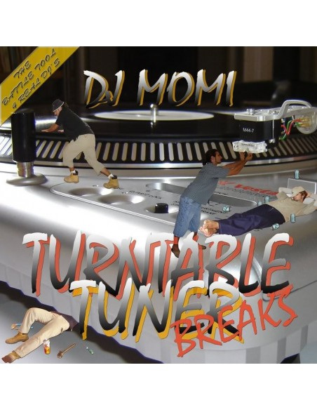 "DJ MOMI ""TURNTABLE TUNER BREAKS"" LP"