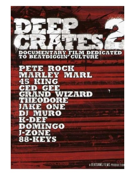 "DEEP CRATES ""VOL.2"" Dvd"