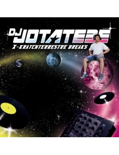"VINILO LP DJ JÓTATEBE ""X-KRATCHTERRESTRE BREAKS"" Vinyl Color"