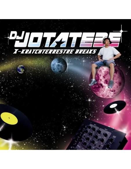 """DJ JÓTATEBE """"X-KRATCHTERRESTRE BREAKS"""" LP"""