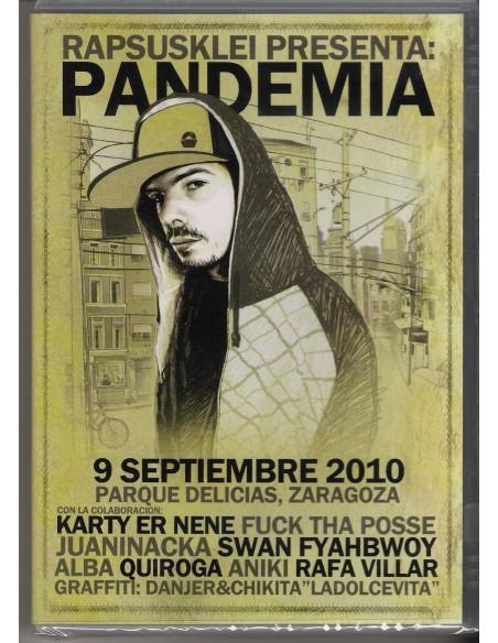 """RAPSUSKLEI """"PANDEMIA"""" Dvd"""