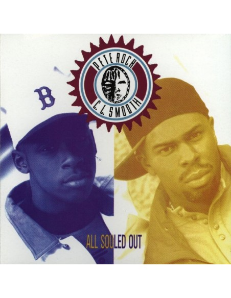 "PETE ROCK & C.L.SMOOTH ""ALL SOULED OUT"" LP"