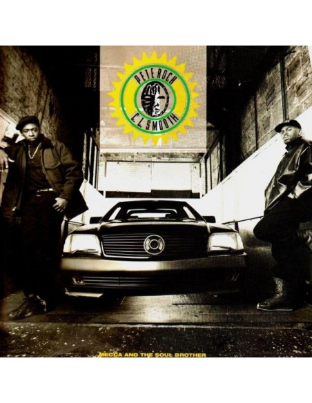 """PETE ROCK & C.L.SMOOTH """"MECCA AND THE SOUL BROTHER"""" 2LP"""