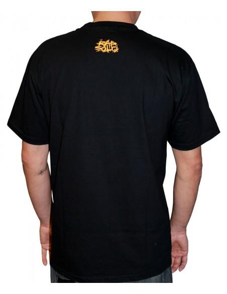 Camiseta RAPSOLO LOGO RS NEGRO detrás