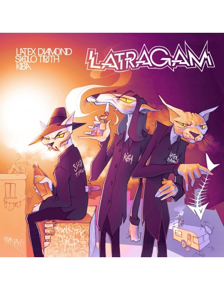 "LATRAGAM (LATEX DIAMOND, SHOLO TRUTH, KIBA) ""LATRAGAM"" Cd"