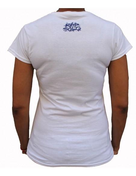Camiseta Chica LOGO RS BLANCA