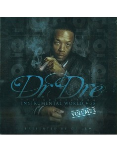 "VINILO 2LP DR.DRE ""INSTRUMENTAL WORLD V.38 VOLUME 2"""