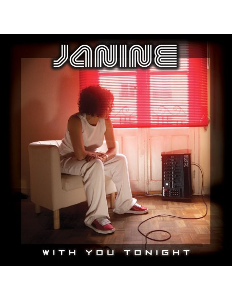 "VINILO LP JANINE ""WITH YOU TONIGHT"""