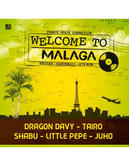 WELCOME TO MALAGA Recopilatorio Cd