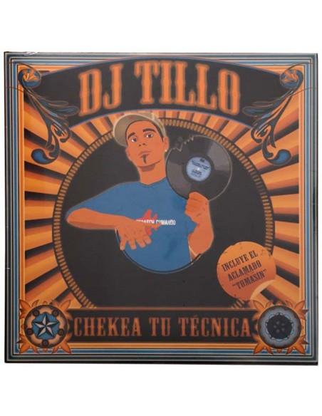 """VINILO LP DJ TILLO """"CHEKEA TU TECNICA"""""""