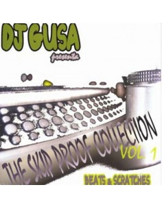 "DJ GUSA ""THE SKIP PROOF COLLECTION VOL.1"" LP Colored Vinyl"