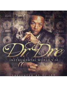 "VINILO 3LP DR.DRE ""INSTRUMENTAL WORLD V.38"""