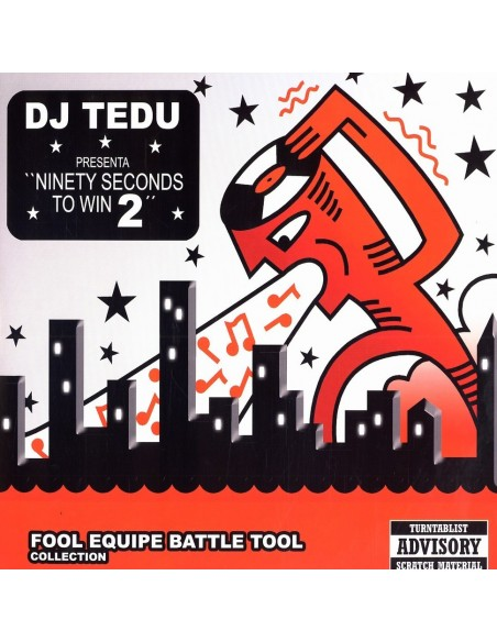 "DJ TEDU ""NINETY SECONDS TO WIN 2"" LP"