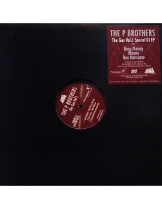 "P BROTHERS ""THE GAS VOL.1"" EP"