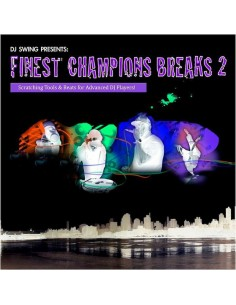 "VINILO LP DJ SWING ""FINEST CHAMPIONS BREAKS 2"""