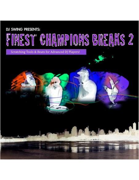 """VINILO LP DJ SWING """"FINEST CHAMPIONS BREAKS 2"""""""