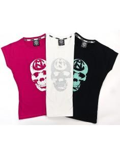 Camiseta Chica COMUN98 CALAVERA