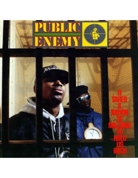 "VINILO LP PUBLIC ENEMY ""IT TAKES A NATION OF MILLIONS TO HOLD US BACK"""