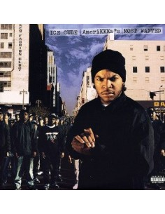 "VINILO LP ICE CUBE ""AMERIKKKA'S MOST WANTED"""