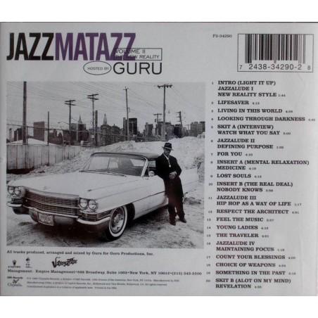 """CD GURU """"JAZZMATAZZ VOLUME 2: THE NEW REALITY"""""""