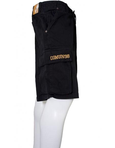 Pantalón Corto COMUN98 CARGO 09 NEGRO