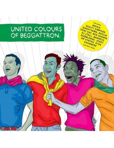 "CD FOREIGN BEGGARS ""UNITED COLORS OF BEGGATTRON"""