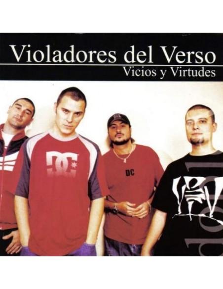 """RESERVA VINILO VIOLADORES DEL VERSO """"VICIOS Y VIRTUDES"""" 2LP"""