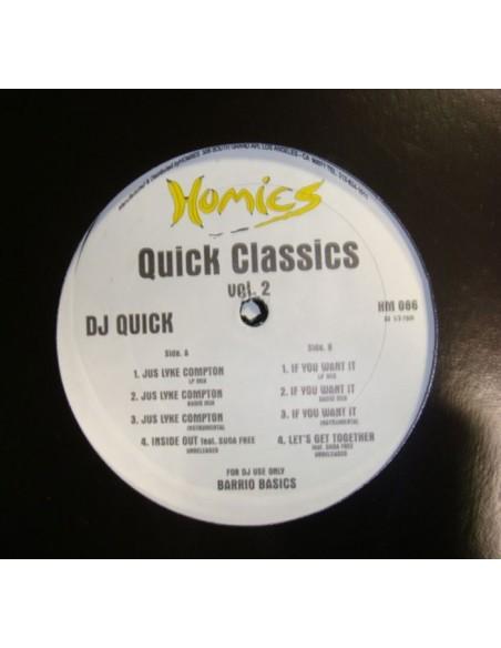 """DJ QUICK """"QUICK CLASSICS VOL.2"""" MX"""