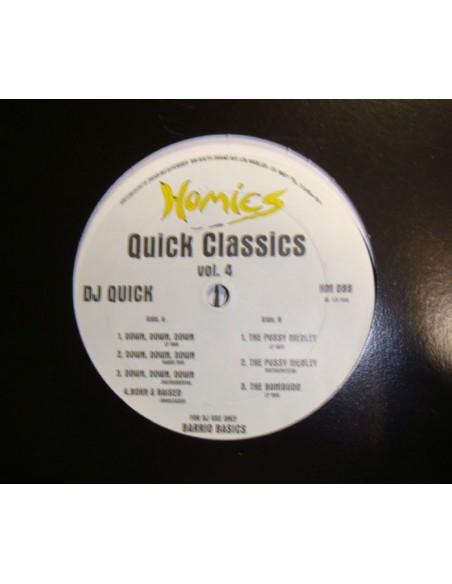 """DJ QUICK """"QUICK CLASSICS VOL.4"""" MX"""