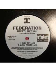 "FEDERATION feat. SNOOP DOGG ""HAPPY I MET YOU"" MX"