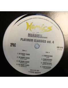 """VINILO MX 2PAC """" MAKAVELI PRESENTS PLATINUM CLASSICS VOL.4"""""""