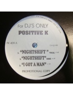 "POSITIVE K ""NIGHT SHIFT/I GOT A MAN/CAR HOP"" MX"