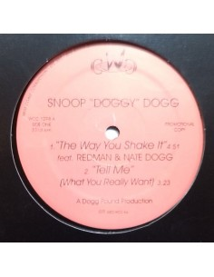 "SNOOP DOGG ""THE WAY YOU SHAKE IT/BALLIN'"" MX"