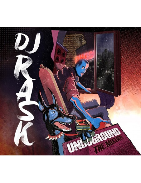 "CD DJ RASK ""UNDERGROUND THE MIXTAPE"""