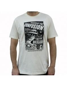 Camiseta CNF INVADERS NATURAL
