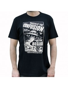 Camiseta CNF INVADERS BLACK