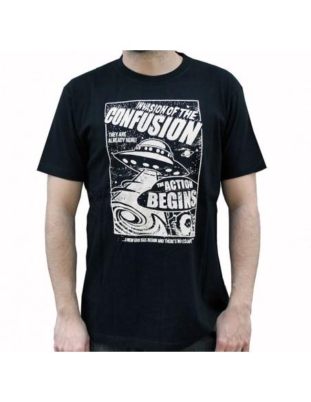 Camiseta CNF INVADERS BLACK