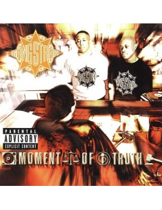 "CD GANG STARR ""MOMENT OF TRUTH"""