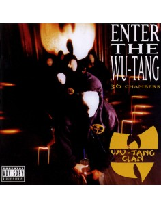 "VINILO LP WU-TANG CLAN ""ENTER THE WU-TANG CLAN (36 CHAMBERS)"""