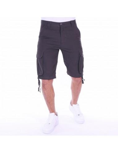 Basic Pelle Pantalón Charcoal Cargo Corto XnwN0Pk8O